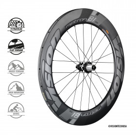 METRON 81 SL DISC TUB WHEELSET