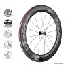 Vision Metron 81 SL Clincher/TL_Front