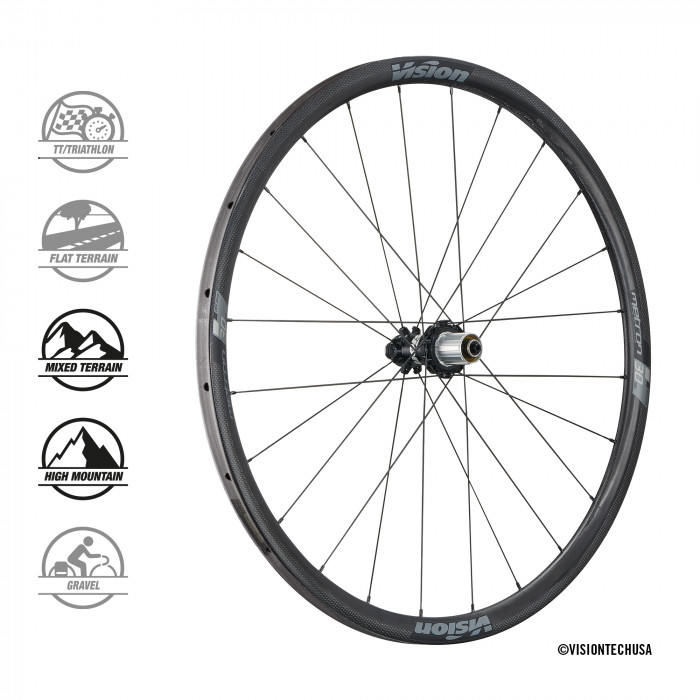 Vision Metron 30SL Disc Tubular_Rear