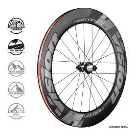 METRON 81 SL DISC Clincher /TL wheelset