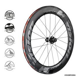 METRON 81 SL CLINCHER/TL wheelset