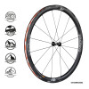 Vision Metron 40 SL Clincher/TL_Front
